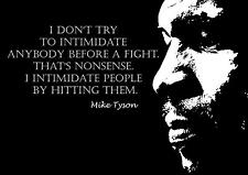 BOXING MIKE TYSON INSPIRATIONAL / MOTIVATIONAL  POSTER / PRINT (3)