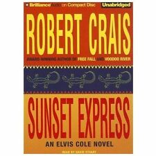 SUNSET EXPRESS (An Elvis Cole Novel) unabridged audio book on CD by ROBERT CRAIS