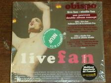 OBISPO Live fan- studio fan DIGIPACK 2CD NEUF