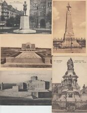 STATUES MILITAIRE   WW1 123 France Vintage Cartes Postales Mostly 1900-1940