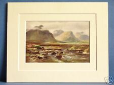 OWENBRIN RIVER LOUGH MASK CONNAUGHT IRELAND VINTAGE PIC