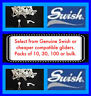 Swish Deluxe Curtain Track Gliders - De luxe rail runners slides sliders hooks