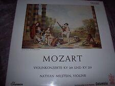 MOZART Violin CONCERTOS - MILSTEIN - SAX 5254* 1ED STEREO B/S COLUMBIA Germany