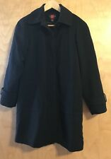 Gallery Womens Petite Black Coat Jacket Size P