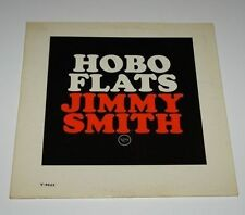 Jazz LP JIMMY SMITH Hobo Flats 1963 VERVE V-8544 Electric Organ