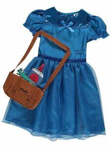 George Roald Dahl Matilda Girls Fancy Dress Costume Outfit World Book Day