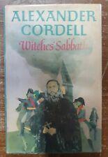 Witches Sabbath Hardback Book Alexander Cordell 1st Edition 1970 Historical