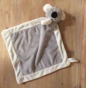 Koala Comforter Blanket Soft Plush Cuddly Comfort Blanket Toy By Rusdyn