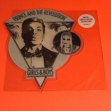 PRINCE GIRLS AND BOYS UK SHAPE PIC DISC ORIGINAL 1986 RARE