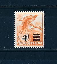 PAPUA & NEW GUINEA 1957 DEFINITIVES SG16 4d on 2½d OVERPRINT  MNH