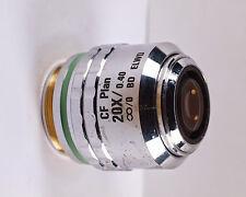 Nikon CF Plan 20x /.40 BD ELWD Infinity Microscope Objective