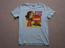 STEVE MCQUEEN FOR LUCKY BRAND RARE LIGHT BLUE GRAPHIC T-SHIRT SIZE SMALL NEW