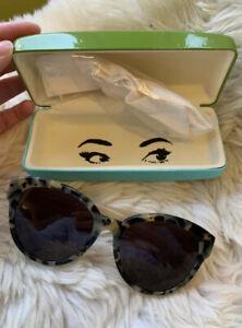 BRAND NEW Kate Spade New York Designer Sunglasses And Case