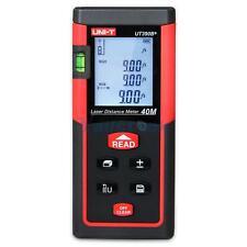 UT390B+ 40M LCD Digital Optical Laser Range Finder Distance Meter Area Volume