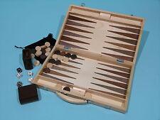 Solid Timber Backgammon Set - Ref: 00452