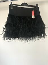 Ladies Oasis Black Skirt Size 12 New With Tags RRP £80 (D944)