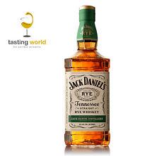 NEU! Jack Daniels Tennessee Straight RYE Whiskey - 0,7l - 45% - 70% Roggen