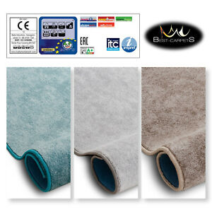 Best Carpets Hardwearing Soft SERENADE 3 Colours Stain Resistant Roll 4m 5m Rugs