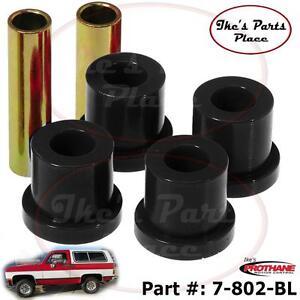 "Prothane 7-802-BL 2-Rear (1-3/8"") Frame Only Shackle Bushing Kit 73-92 Truck&Sub"