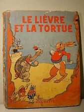 WALT DISNEY SILLY SYMPHONIES FRANCE - LE LIEVRE ET LA TORTUE 1935 - MICKEY MOUSE