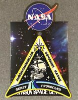 NASA EXPEDITION 57 MISSION PATCH Official Authentic SPACE 5in