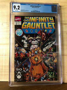 The Infinity Gauntlet #1 (Jul 1991, Marvel) CGC 9.2 Thanos