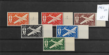 @  Frence  India   Air mail  Set 1942  MNH € 18.00 - Low start @ pce489