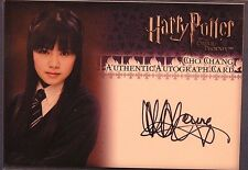 Harry Potter-OOTP-Katie Leung-Cho Chang-Authentic-Signature-Autograph Card