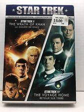 Star Trek Franchise Collection Ii Wrath of Khan Iv Voyage Home Blu-Ray Dvd Movie