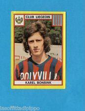 BELGIO-FOOTBALL 75-PANINI-Figurina n.181- BONSINK - CLUB LIEGEOIS -Rec