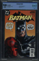 Batman #638 CBCS 9.8 White Pages Not CGC Jason Todd Revealed as Red Hood DC 2005