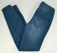 Rue 21 Women's Super Skinny Mid Rise Jegging Blue Jeans 0 SHORT