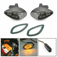 Smoke Turn Signals Fit for Honda CBR 1000 RR Flush Mount 2004-2005