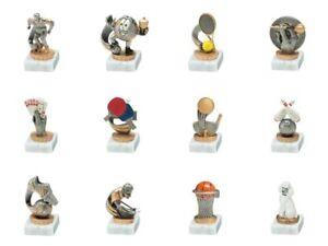 Einzelpokal, viele verschiedene Figuren verfügbar (mit Ihrer Wunschgravur) FX