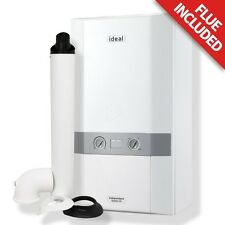 Ideal Independent Combi Boiler 30kw Clock and Standard Horizontal Flue 5 Years