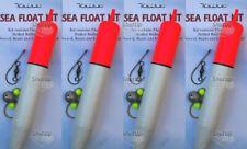 4 X KOIKE Large Sea / Pike Fishing Complete Sliding Float Kits 19cm