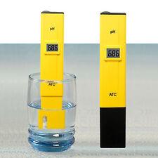 Digital PH Test Meter Pen Kit Water Fish Aquarium Wine Pool Test Tool Tester Pen