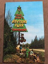 Yogi Bear's Jellystone Park Campground Postcard - Unused - Early 1970's