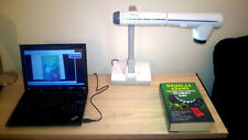 ELMO TT-12 digital document camera, with AC/DC supply, cable, tested, 96X zoom