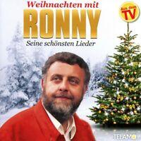 RONNY - WEIHNACHTEN MIT RONNY-SEINE SCHÖNSTEN LIEDER   CD NEU