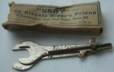 Vintage Unity Bicycle Bike Pocket Combo Tool Box Milwaukee WI Wrench Hole Repair