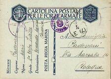 7439) WW2, POSTA REGIA MARINA, COMANDO MARINA ANCONA.