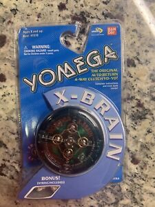 NEW Vintage 1999 Bandai Yomega X-Brain Green Original Yo-Yo In Original Package