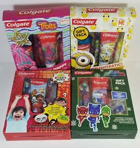 Colgate Electric Toothbrush Toothpaste Cap Rinse Gift Pack Teeth Smile EXP 2021