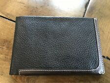 Mens Leather Travel Wallet with Lodis RFID Protection By Travelsmith