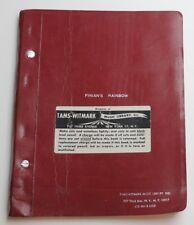 Finian's Rainbow * 1947 Broadway Play Script * Tams Witmark 1970's RENTAL Script