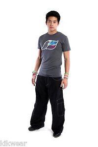 """23"""" Wide Bottoms  Kikwear Black Microsuede Pant Unisex"""