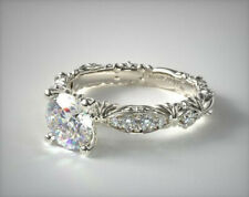 Gorgeous Wedding 925 Rings Women Silver Jewelry White Sapphire Ring Size 6