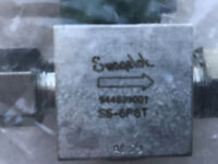 "Swagelok SS-6P6T Stainless Steel Quarter Turn Instrument Valve 3/8""(QTY:2)(NEW)"