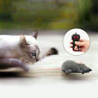 Raton Rata electronico RC control remoto inalambrico Ratones para gato perro  G2